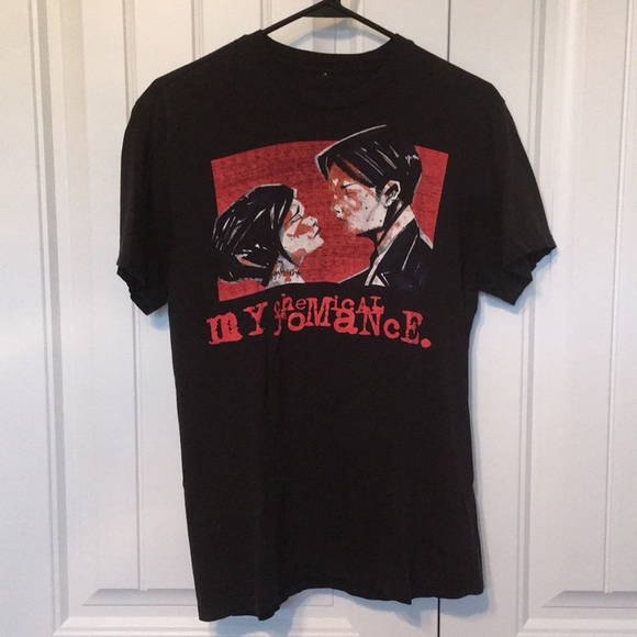 cbe07605 Hot Topic Shirts | My Chemical Romance Band T Shirt Sz M | Poshmark